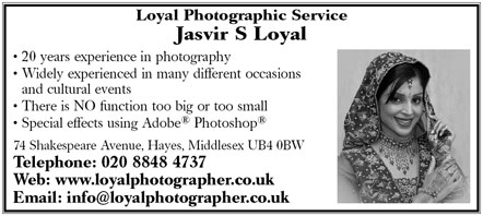 Loyal Photagraphic services