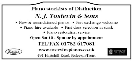 Piano stockists of distinction - new and reconditioned pianos